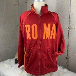 NEW Roma/Rome Futbol/Soccer Team ZipUp XXL FMItaly
